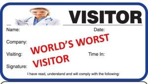 Bad Visitor